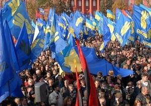 ВО Свобода: Украина стремительно приближается к белорусскому варианту