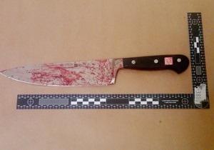 В Харьковской области милиция задержала женщину, нападавшую с ножом на прохожих