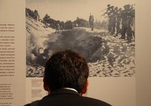 Фотогалерея: Холокост от пуль. В Киеве открылась выставка о массовых расстрелах евреев