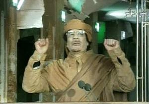 Каддафи: Протестующие заслуживают смертной казни