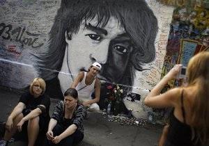 Стена памяти Виктора Цоя появится в Киеве