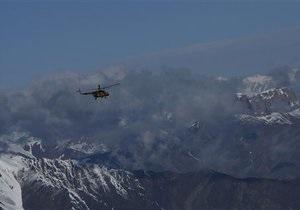 Вертолетчики НАТО в Афганистане обнаружили место падения Ан-24