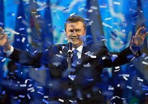 Янукович выступит с ежегодным посланием во дворце Украина