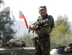 Два пьяных российских солдата едва не пропустили вывод войск РФ из Грузии