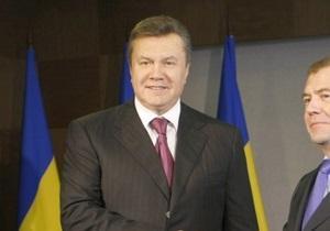 Янукович заявил об угрозе поглощения экономики Украины Россией