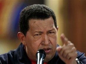 Чавес: США пытаются спровоцировать войну Колумбии с Венесуэлой