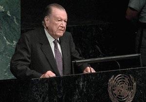 Умер бывший президент Венесуэлы