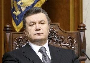 Франция ждет от Януковича реформ