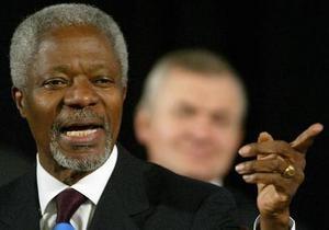 Кофи Аннан рассказал, как выдал себя за Моргана Фримана