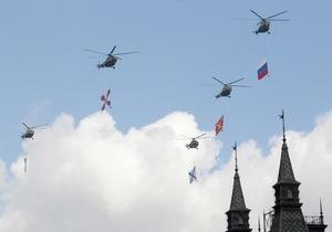 В Москве перед праздничным парадом разогнали облака