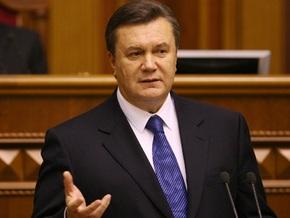 Янукович призывает определиться с датой проведения досрочных выборов