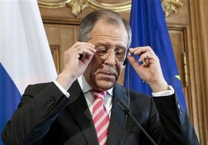 Лавров: Россия не занимается свержением режимов