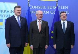 Ъ: Лидеры ЕС воздержались от публичной критики Януковича, ни разу не вспомнив о Тимошенко