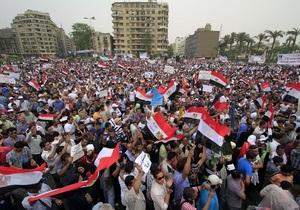 В Каире демонстранты напали на журналистку