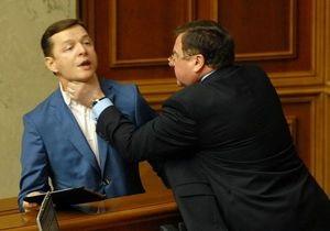 Ляшко прокомментировал свою драку с Мартынюком
