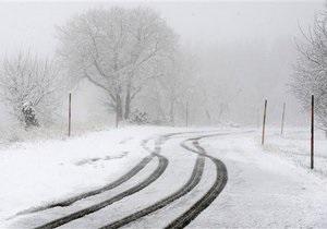 Из-за непогоды отменены автобусные рейсы из Тернополя