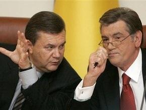 Янукович рассказал, о чем беседовал с Ющенко