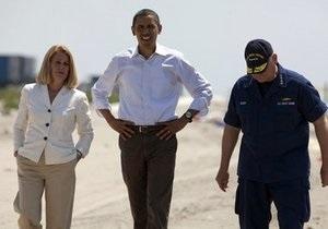 Обама утроит число людей в зоне разлива нефти