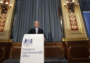 Британия высылает из страны ливийских дипломатов