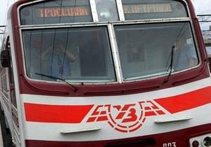 В Киеве временно приостановили работу городской электрички