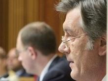 Ющенко поговорил с Яценюком о грядущей сессии Верховной Рады