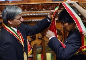 В Боливии прошла инаугурация избранного на второй срок Эво Моралеса