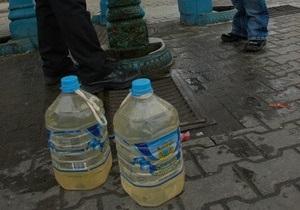 Жители столицы остались без девяти бюветов из-за долгов Киевводоканала за электроэнергию