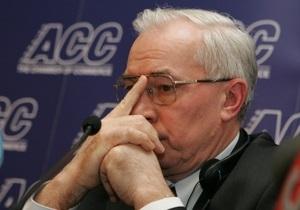 Азаров рассчитывает на возобновление сотрудничества с МВФ