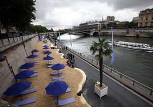 Фотогалерея: Шерше ля пляж. В Париже открылся купальный сезон