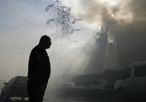 В еще одном ночном клубе в России произошел пожар