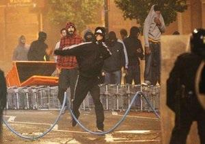 В Лондоне арестованы 42 участника беспорядков