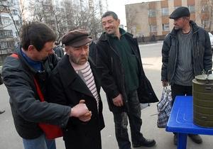 Штаб помощи бездомным в Киеве начнет работу в декабре