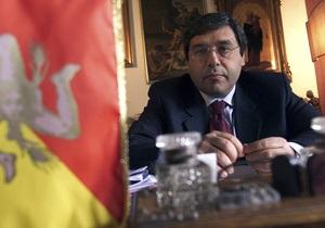 Экс-губернатор Сицилии сядет в тюрьму за помощь  крестному отцу