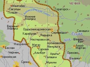 В Ингушетии обстреляна колонна российских военных
