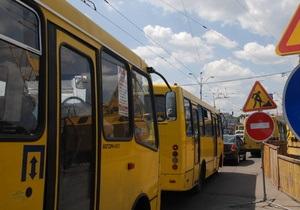 Под Киевом мужчина пытался угнать маршрутку