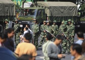 В Китае к смертной казни приговорены еще трое участников беспорядков в Урумчи
