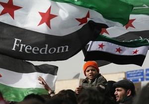 Мятежники в Сирии требуют от Асада прекратить военные операции в течение 48 часов
