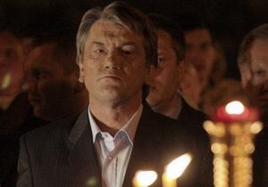 Ющенко не сомневается, что в Украине будет создана единая поместная церковь