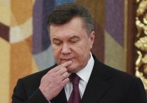 НГ: Янукович готовит Путину подарок под елку
