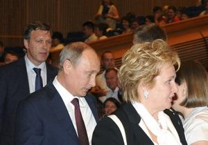Отстояла вахту. Путин объяснил, почему развелся с женой