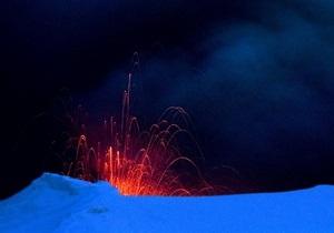 Исландский вулкан выбрасывает 75 тонн магмы в секунду