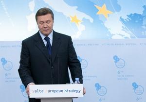 Янукович: Мы будем сами выбирать темпы, формы и методы интеграции в ЕС