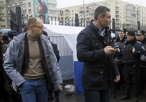 Яценюк: Оппозиция не поддержит решение о перевыборах