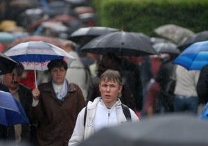 1 сентября Украину накроют дожди и грозы