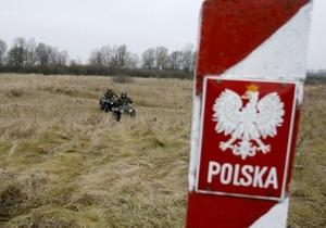 Украина и Польша начали строить на границе новый пункт пропуска
