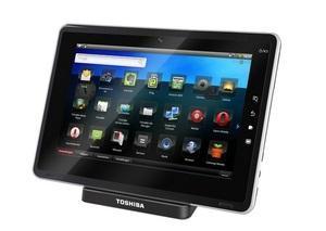 Toshiba представляет свой первый планшетный компьютер на базе Android