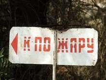МЧС: Информация о пожаре возле Киева является провокацией