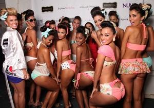 Фотогалерея: Модные купальники 2014. В Майами проходит Неделя пляжной моды
