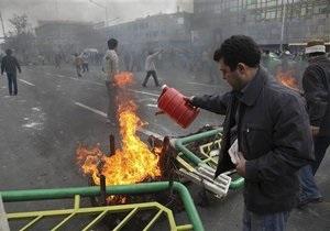 Беспорядки в Иране: власти объявили о задержании иностранцев