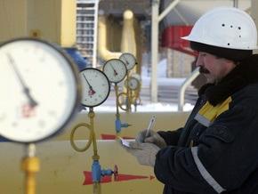 Подача газа в Украину снизилась в четыре раза